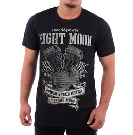 Eight Moon Rockabilly Men's Shirt Haley Engine Motorcycle Rock En9