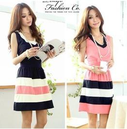 Striped Dress / Vestido Rayas Wh062