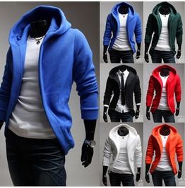 Men's Casual Zip Up Hoodies Ly25