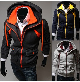 Men's Assassin Creed Zip Up Hoodies Lw832