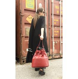 Burgundy Genuine Leather Bag