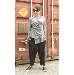 Grey Asymmetrical Tunic