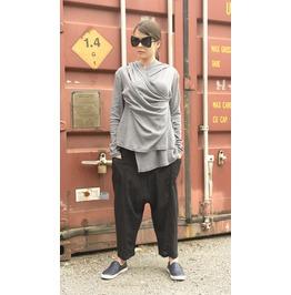 Grey Asymmetrical Tunic
