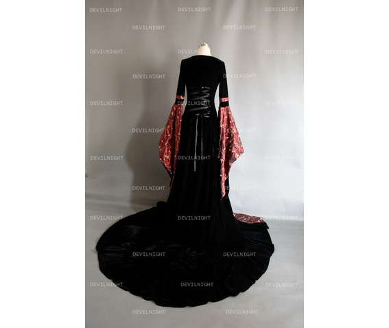 fantasy_red_and_black_velvet_celtic_medieval_gown_dresses_4.jpg