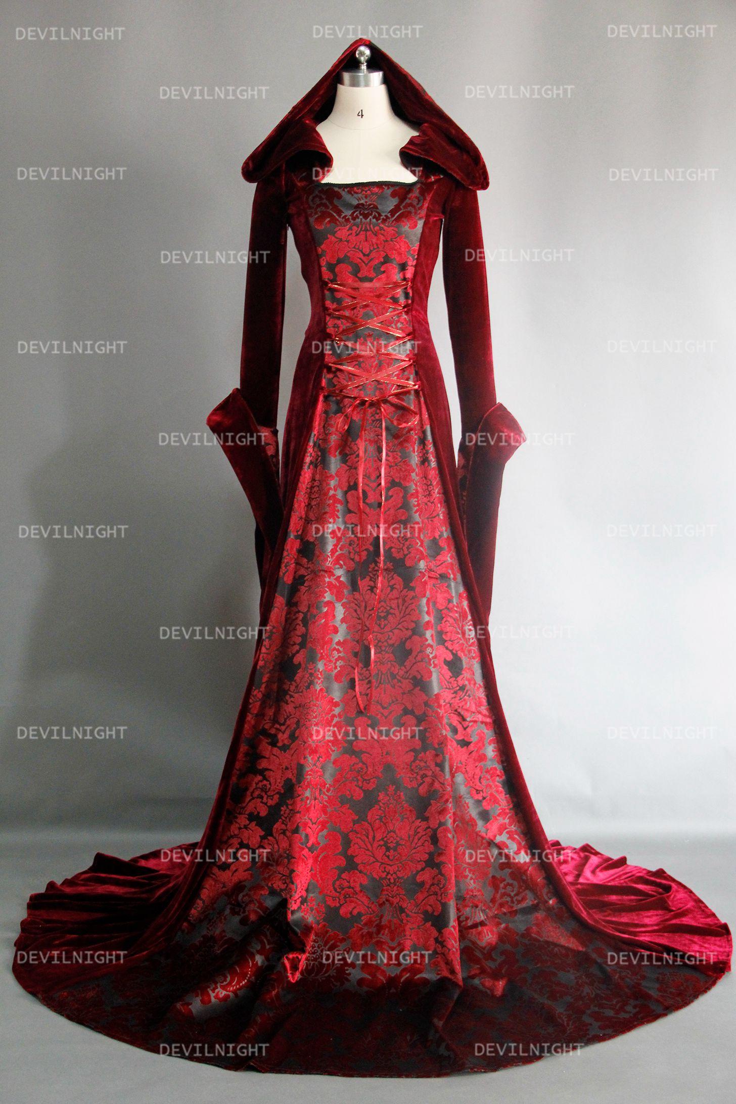 red_velvet_gothic_hooded_medieval_dress_dresses_4.jpg