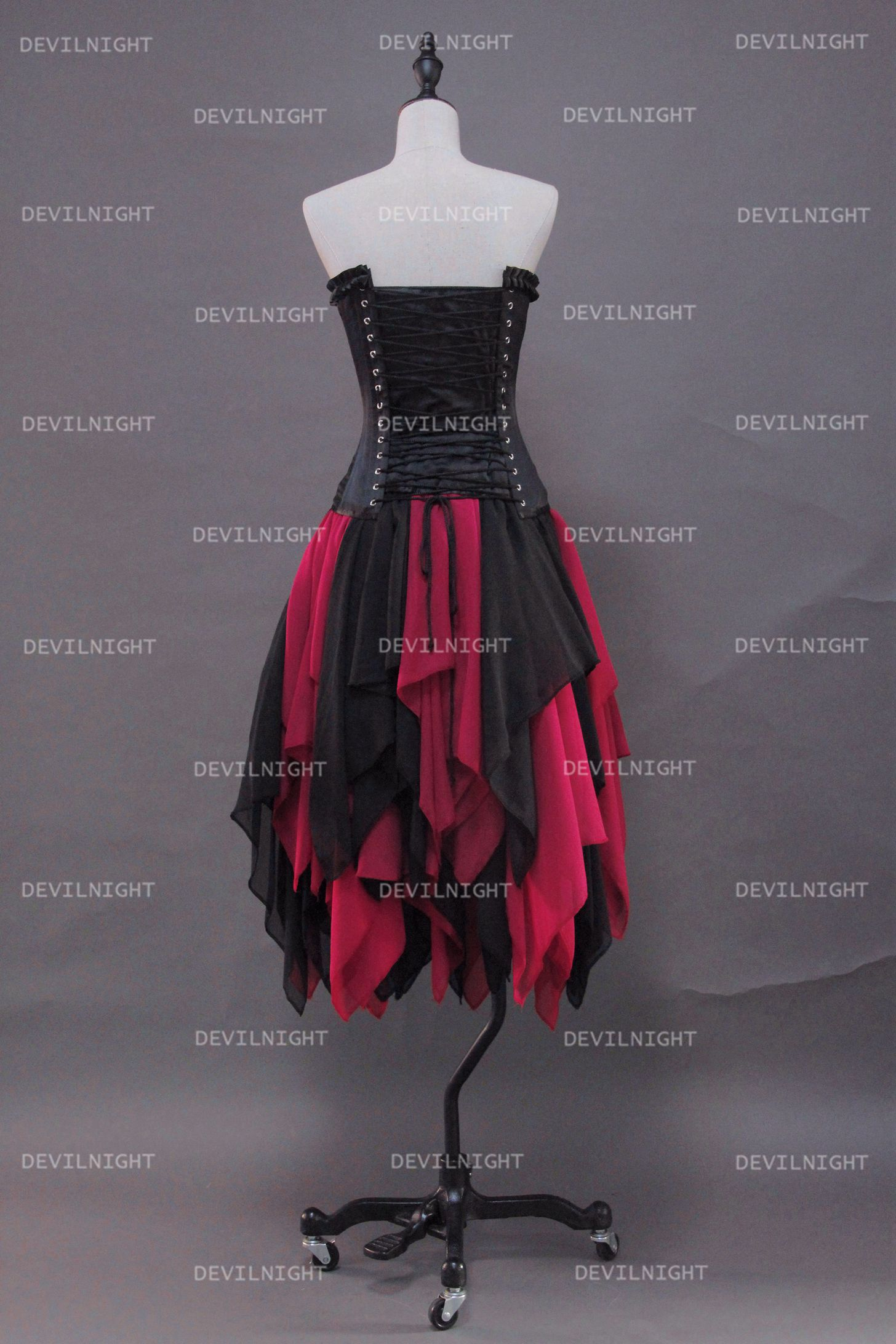 fashion_black_and_red_gothic_corset_irregular_burlesque_prom_party_dress_dresses_3.jpg