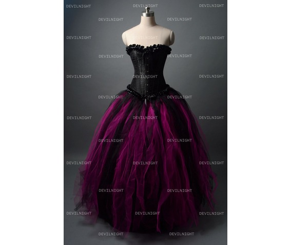 black_and_fuchsia_gothic_corset_burlesque_long_prom_party_dress_dresses_4.jpg