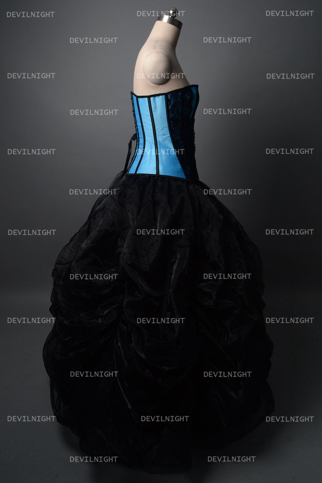 fashion_black_and_blue_gothic_corset_burlesque_long_prom_party_dress_dresses_4.jpg