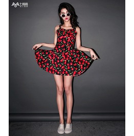 Cherry Dress / Vestido Cerezas Wh053
