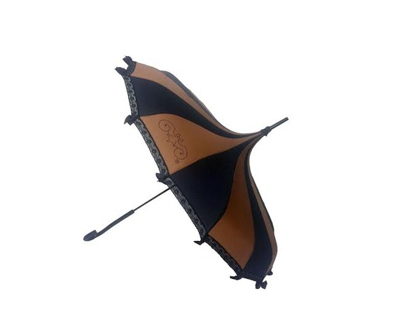 hilarys_vanity_brown_and_black_pagoda_shaped_functional_umbrella__umbrellas_5.jpg