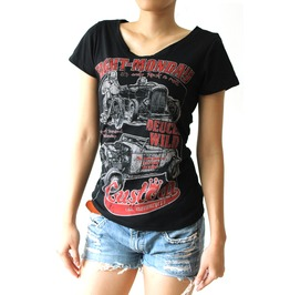 Eight Monday Rockabilly Shirt Hot Rod Vintage Cafe Racer Pin Up Em 2