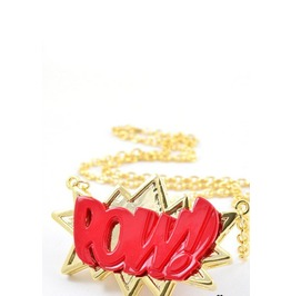 """Pow"" Necklace"