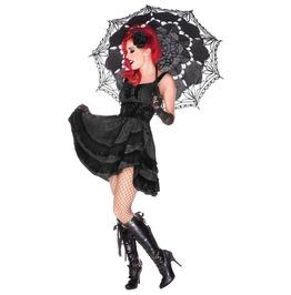 Jawbreaker Women's Gothic Black Lace Dress