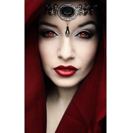 Black Crystal Jewel Tiara Gothic Tiara Fantasy Headdress Headchain