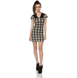 Jawbreaker Women's Socket To 'em Skull Dress