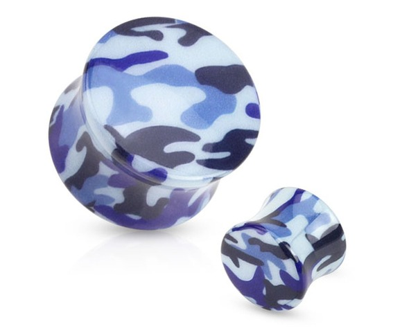 blue_camouflage_printed_acrylic_saddle_fit_plug_pair_0_ga_ear_gauge_plugs_and_tunnels_2.jpg