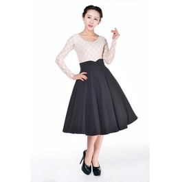 Carly Rockabilly Swing Skirt