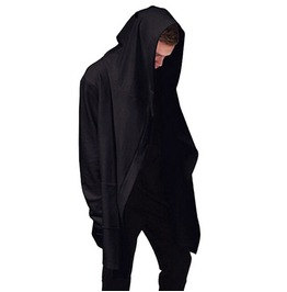 Hoodies Men Hooded Cloak Plus Long Shawl Double Coat Coat Assassins Creed