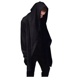Hoodies Men Hooded Cloak Plus Long Shawl Double Coat Coat Assassins Creed