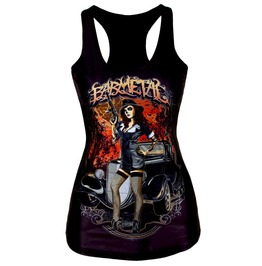 Awesome Baby Metal Design Vest Top T Shirt One Size