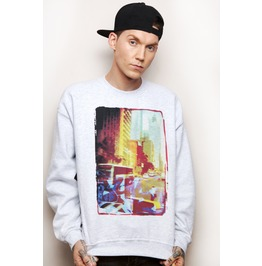 Nyc Cityscape Urban Unisex Sweater