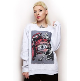 Seeying Eye Crewneck Unisex Sweater