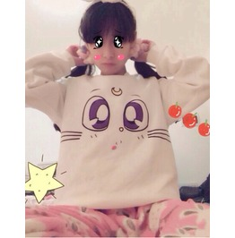 Sailor Moon Sweatshirt Sudadera Wh324