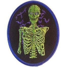 "Vince Ripper (Officially Licensed) Embroidered Patch 10cm X 8cm (4"" X 3 1/4"