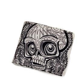 Skull Short Wallet
