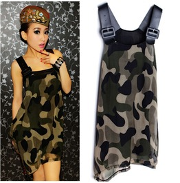 Camouflage dress vestido militar wh291 dresses 6