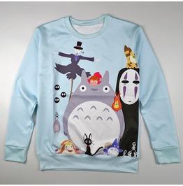 Totoro Sweatshirt Sudadera Wh287