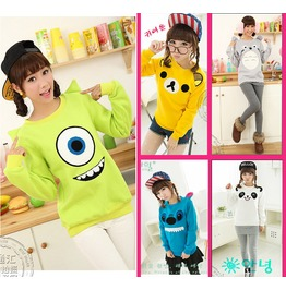 Cartoon Sweatshirts Sudaderas Wh283
