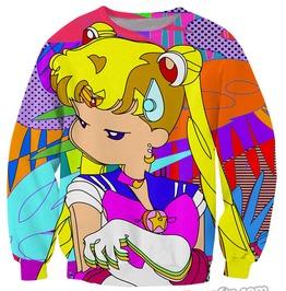 Sailor Moon Sweatshirt Sudadera Wh281