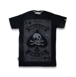 Punk Liquorbrand Death Spade Men T Shirt