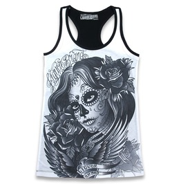 Rockabilly Dark Angel Women Top