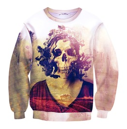 3 D Skull Print Women/Men Sweatshirts 03