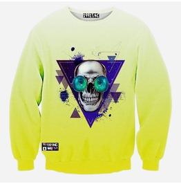 3 D Skull Print Women/Men Sweatshirts 04