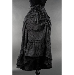 Brocade Two Layer Victorian Pirate Bustle Skirt $9 Worldwide Shipping