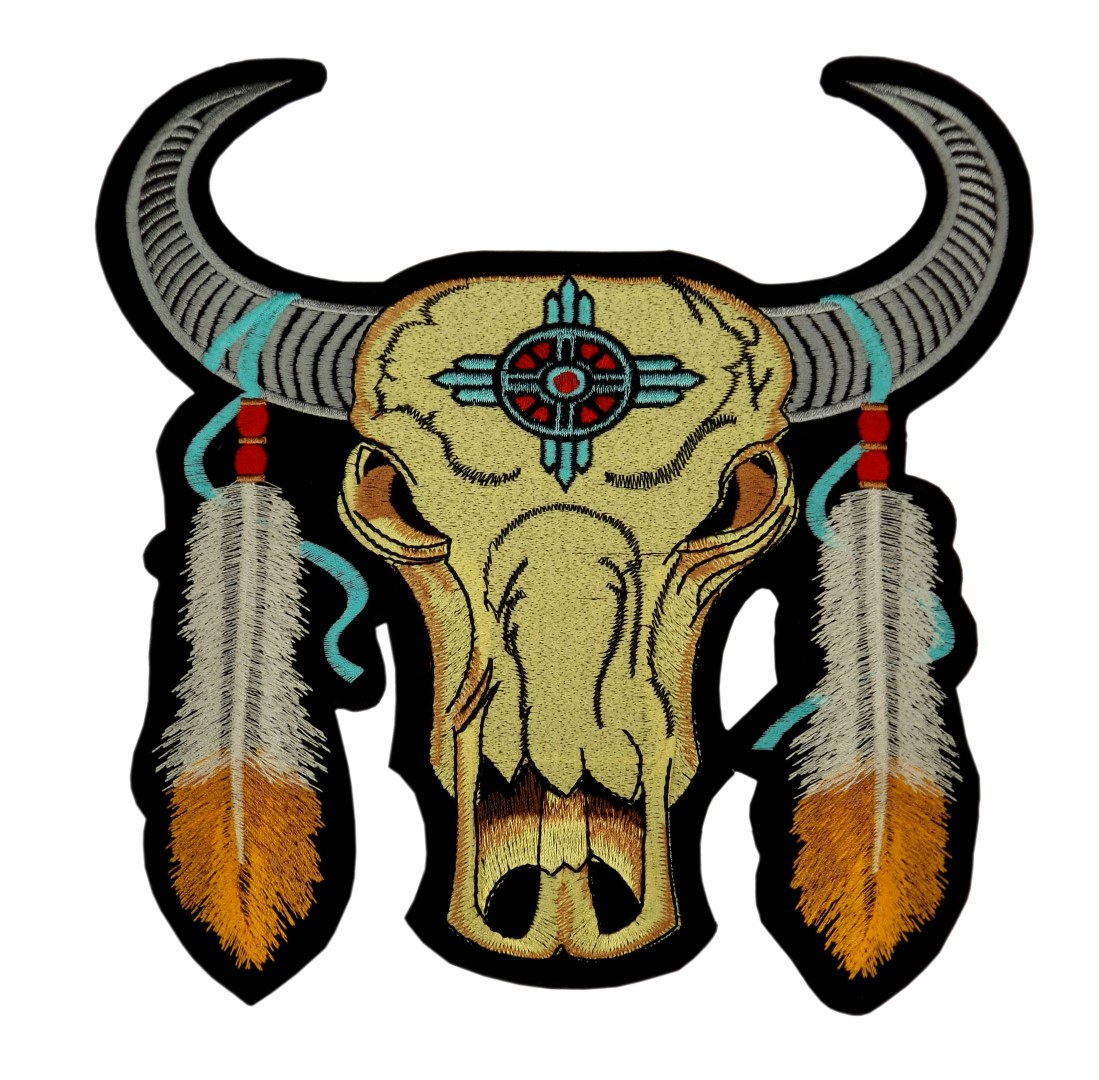 big_patch_totem_kingsize_american_indians_skull_bull_9_84_inch_9_84_inch_patches_2.jpg
