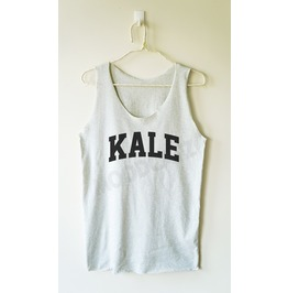 Kale Shirt Funny Shirt Text Shirt Women Tank Top Men Shirt Women Shirt