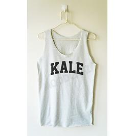 Kale Shirt Funny Shirt Text Shirt Women Tank Top Men Shirt Women Shirt