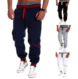 Sport Pant Waist Man Sports Black / Gray / Blue / White / Pants Men