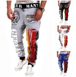Sport Pant Man Sports Black / Gray / Blue / White / Pants Men Sweatpants