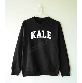 Kale Shirt Funny Shirt Text Shirt Hoodie Jumper Women Sweater Men Sweater