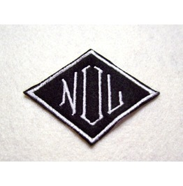 Embroidered Diamond 3 Initial Monogrammed Patch Iron On /Sew On Any Color