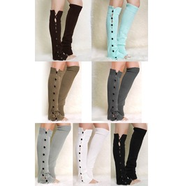 Hottest Victorian Steampunk Wool Leg Warmers Sv012398 Dl.