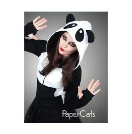 Hoodie Panda Ears Animal Kawaii Cotton Lolita Sweet Nerd