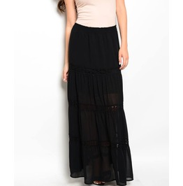 Devil's Kiss Maxi Skirt