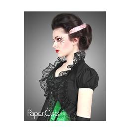 Black Lace Bolero Victorian Goth Pin