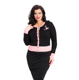 Voodoo Vixen Meow For Now Plus Size Kittycat Cardigan
